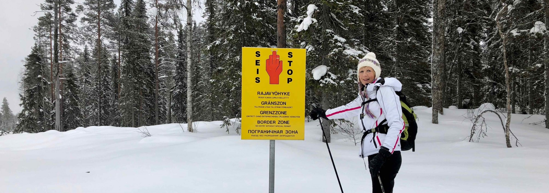 Ski the Finnish Russian Frontier