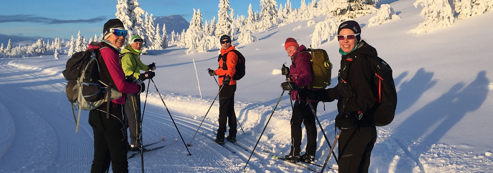 Nordic in Norway: Venabu - Taking a moment during another quality ski day in the frozen landscape