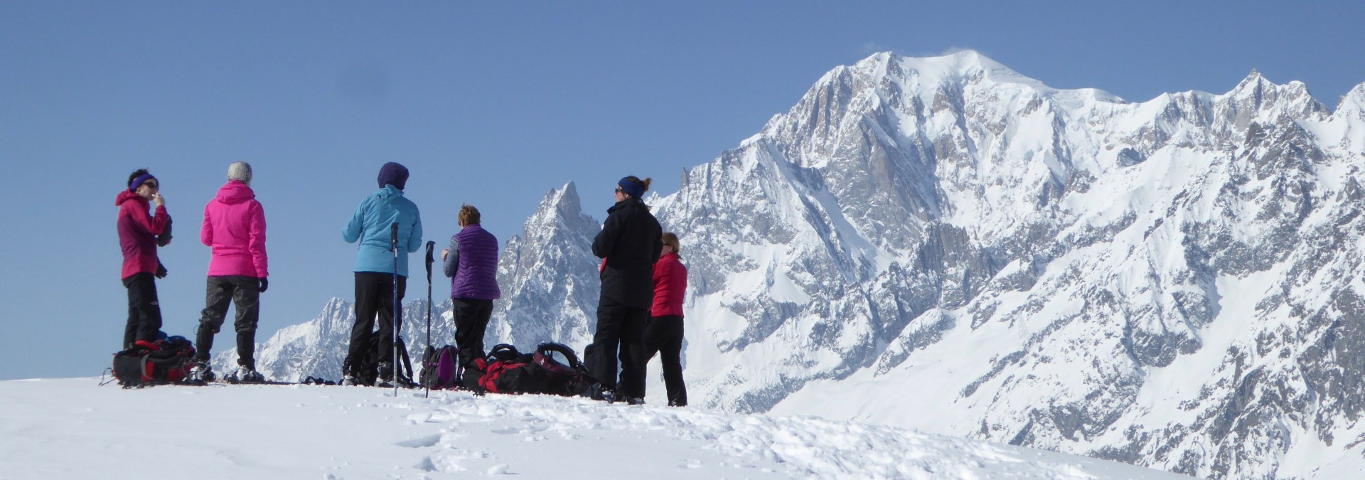 Chamonix Snow Shoe Adventure
