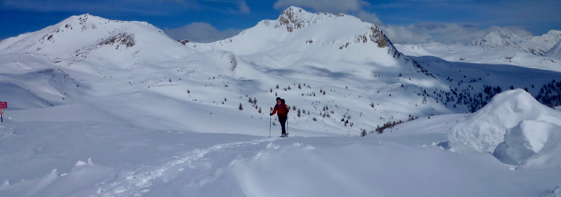 Névache Snowshoe: Valleys & Cols