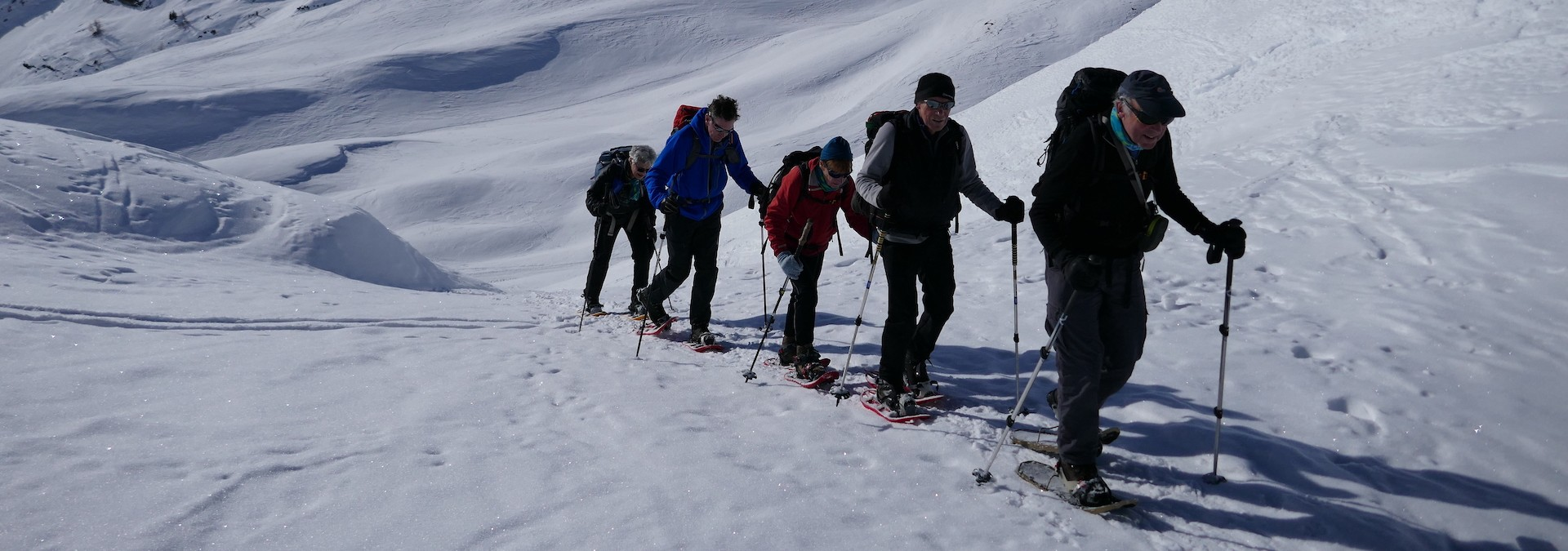 Snowshoeing in the Vanoise
