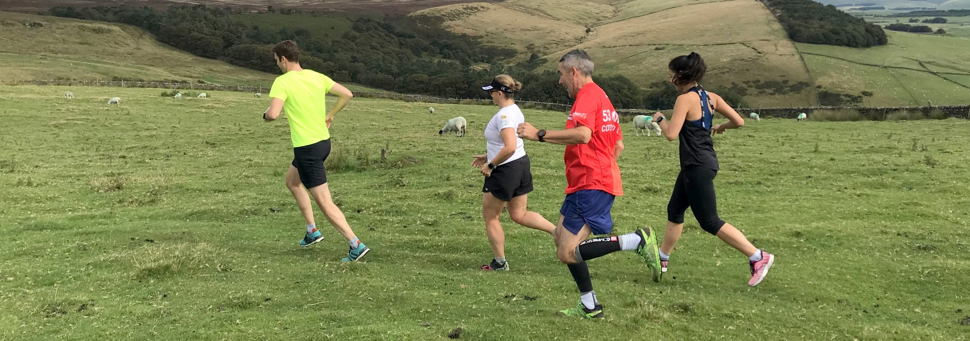 Learn to trail run in the Peak District