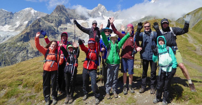 Family Mont Blanc Tour
