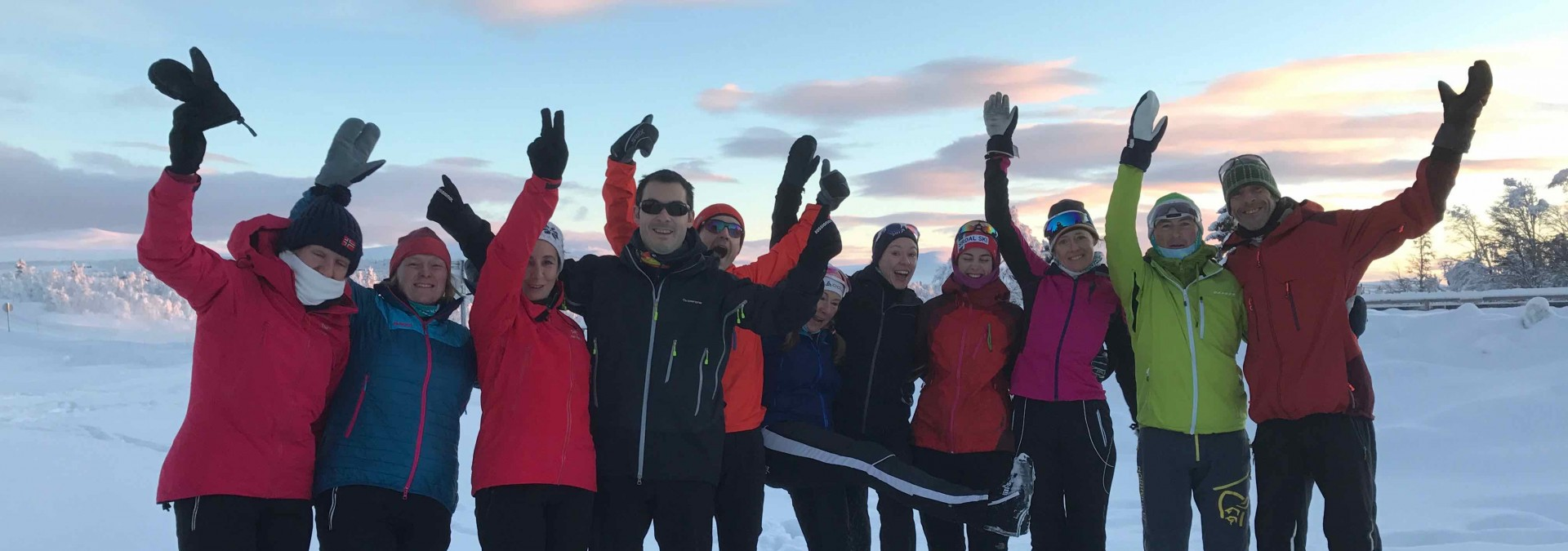 Nordic in Norway: Venabu - A fabulous team for our best selling New Year week