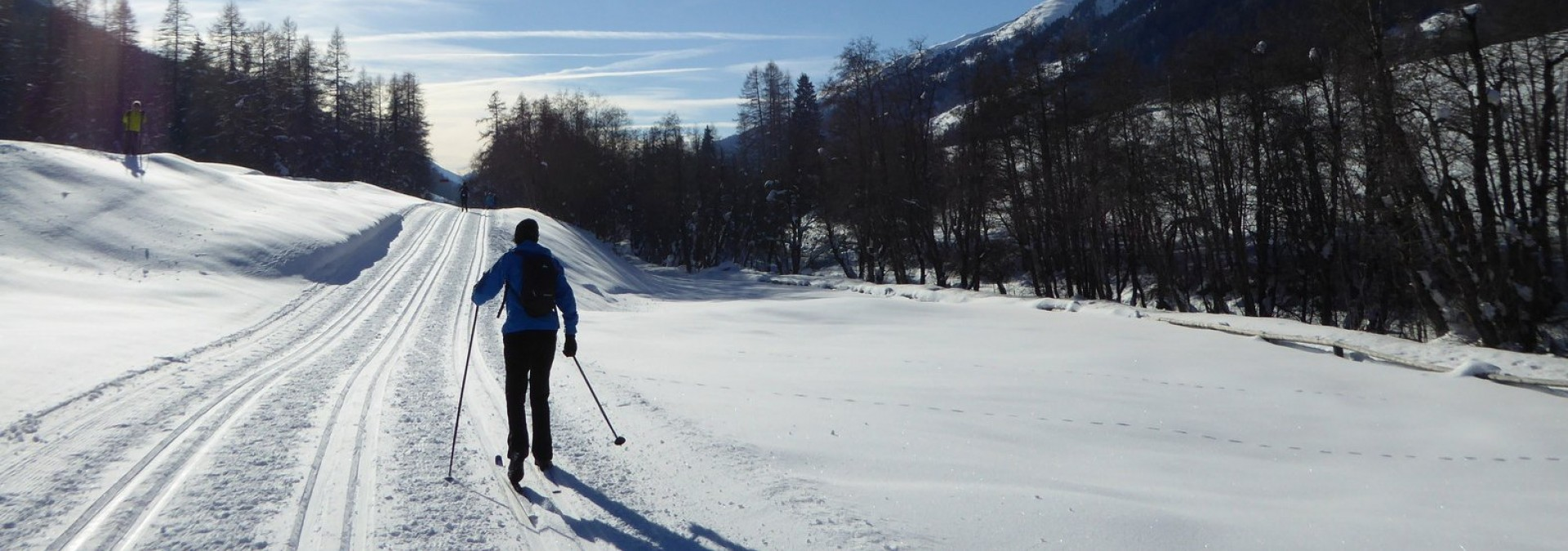 Swiss Alps Cross Country Skiing, Obergoms Valley