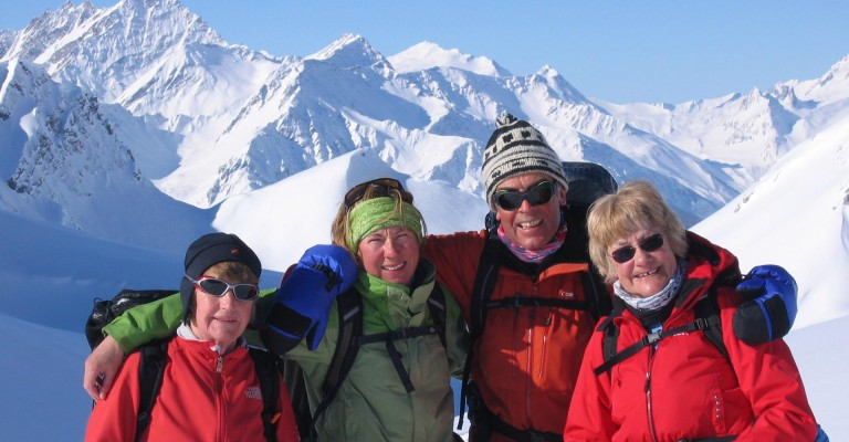 Chamonix Snowshoe Adventure - sharing good times in the mountains!