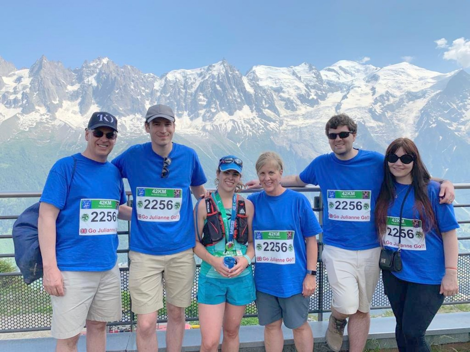 Julianne's Mont Blanc Marathon Success!