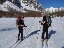 Ski Exped with snowshoes!