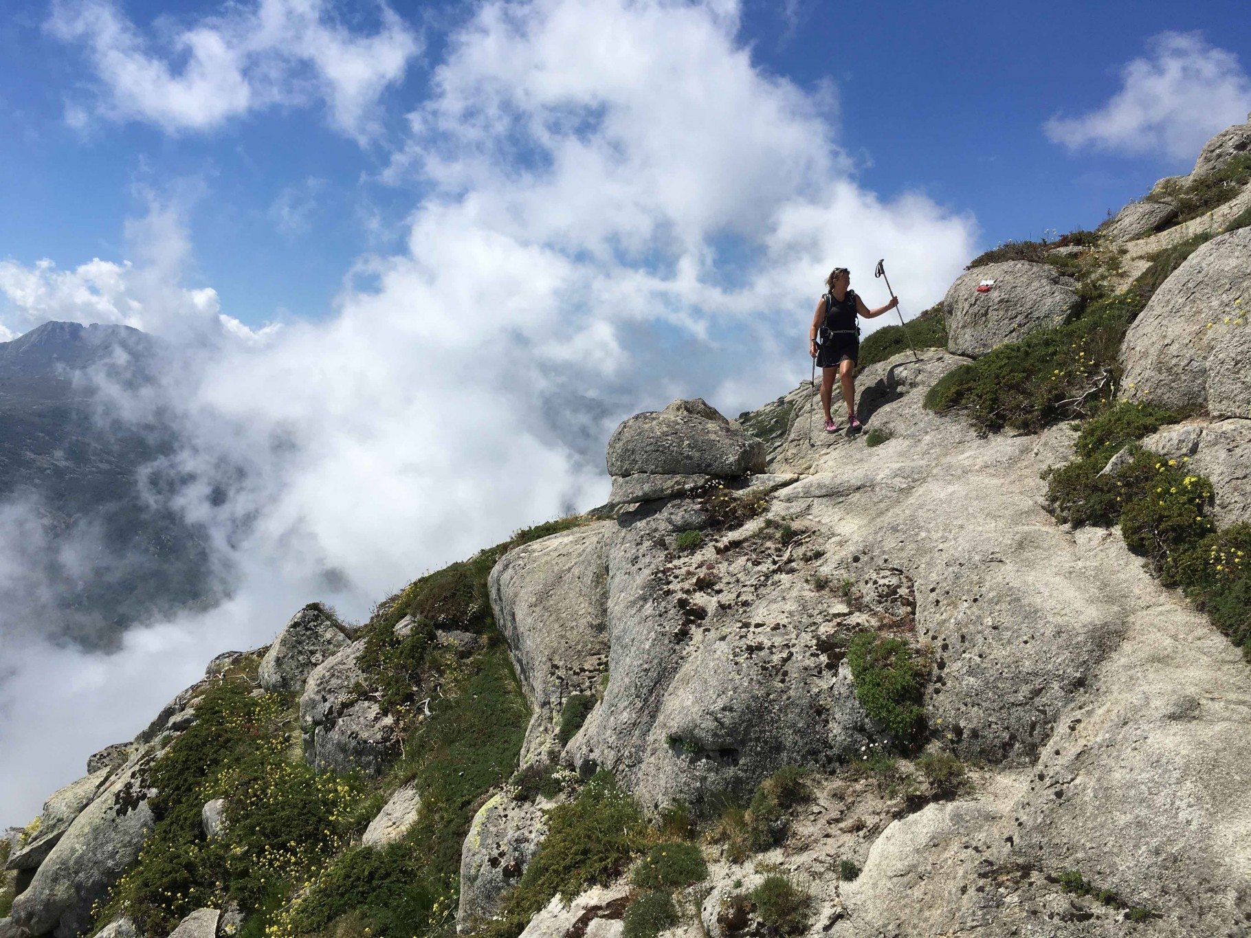 A hike along the Corsican super highway - The famous 'GR20' Trek