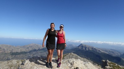 On the top of Mallorca!